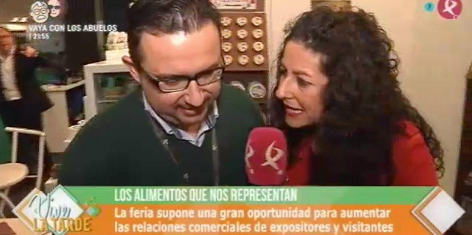 Extremadura Alimenta en el programa VIVA LA TARDE