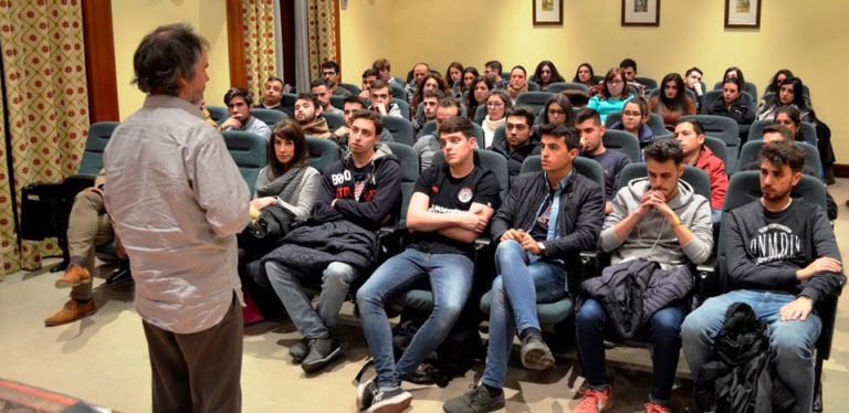 Taller en la Escuela de Ingenierías Agrarias de la UEX en Badajoz