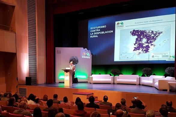 El Clúster de Extremadura Alimenta estuvo en el IV Congreso de Ecoturismo